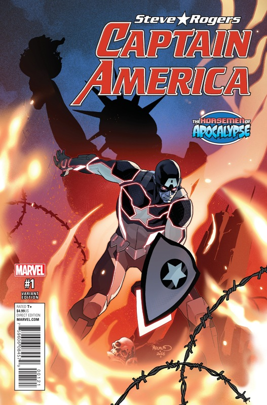 Captain America - Steve Rogers 001-000a (Paul Renaud Age of Apocalypse Variant)