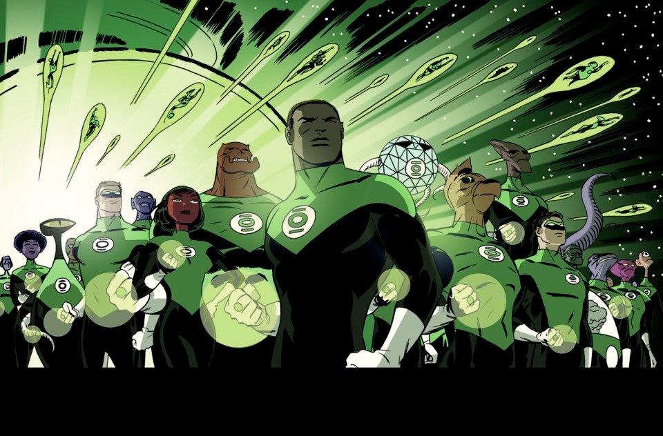 darwyn cooke Green Lantern Corps #37