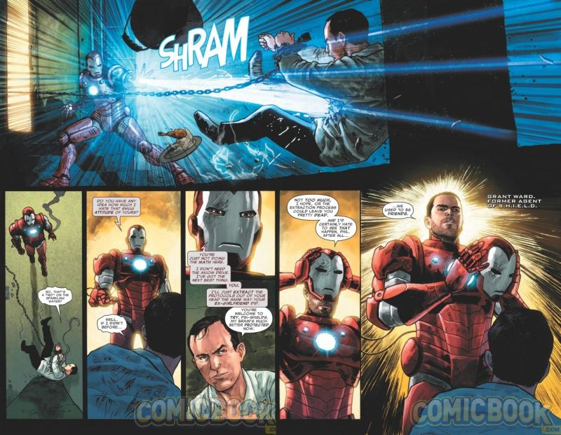 grant ward vs phil coulson iron man