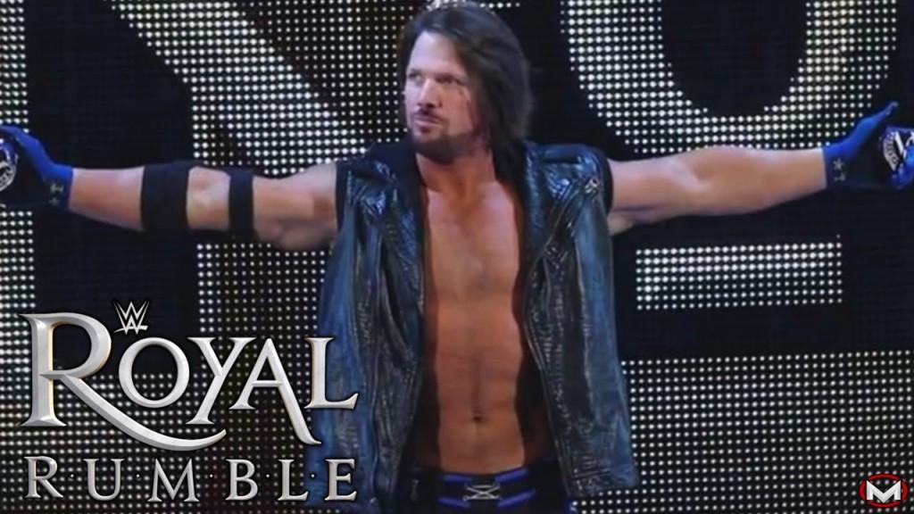 aj styles royal rumble 2015