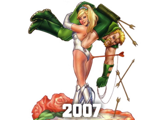 green_arrow_black_canary_relationship_thru_the_years (9)