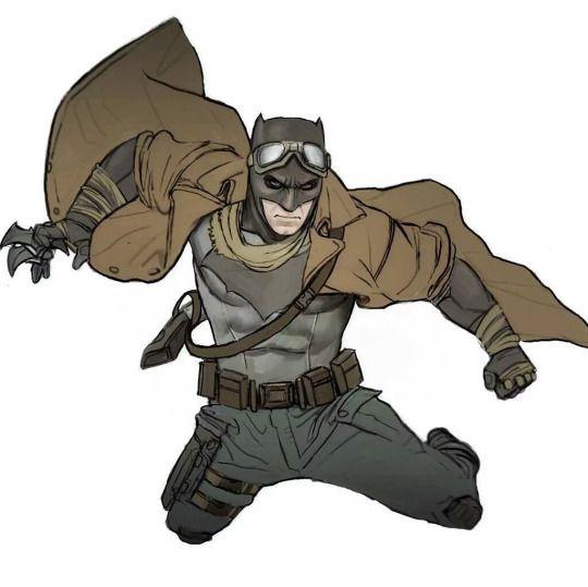 Knightmare Batman by Nimrod Schiff