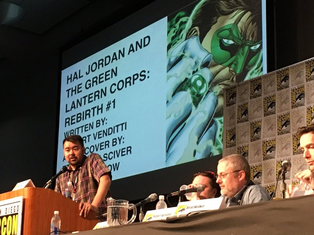 Hal Jordan and the Green Lantern Corps DC Rebirth Panel SDCC 2016 (1)