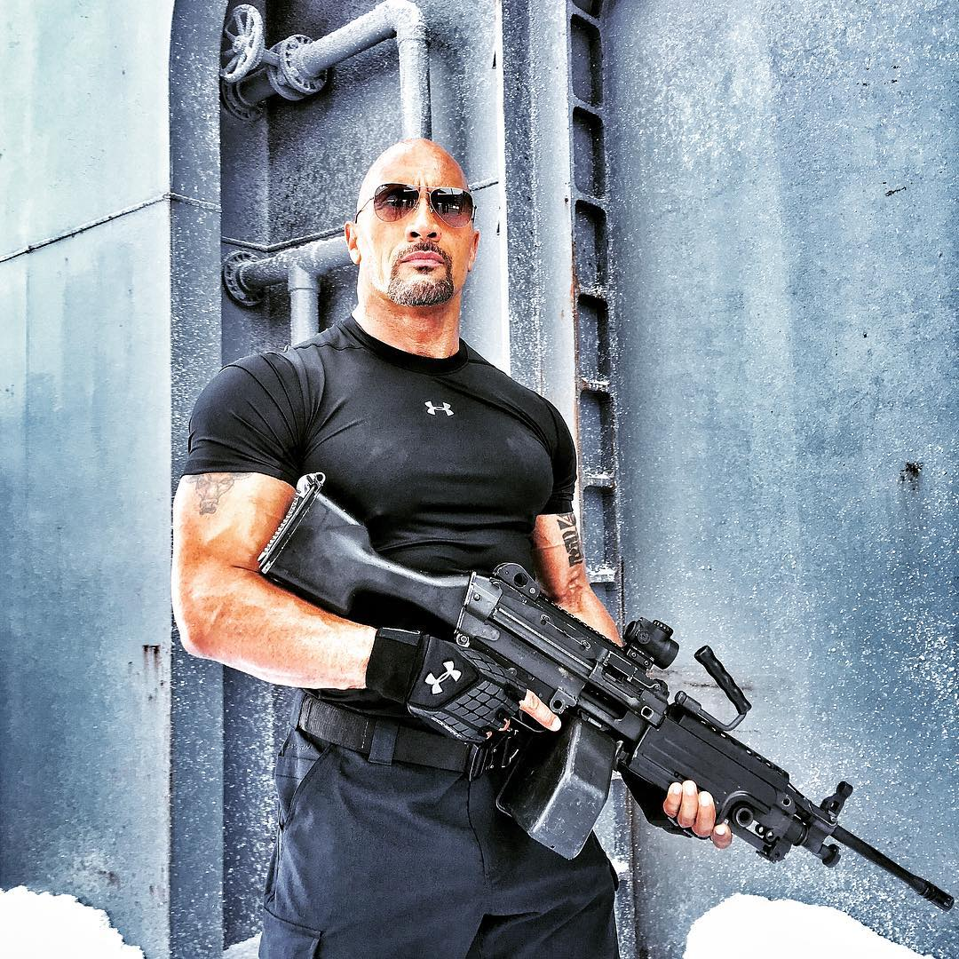 dwayne johnson shares the two sides of hobbs for fast 8 the fanboy seo. Black Bedroom Furniture Sets. Home Design Ideas