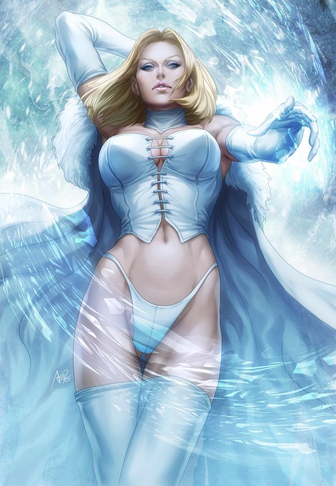 emma frost by artgerm