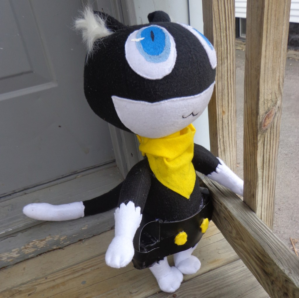 persona 5 morgana plush