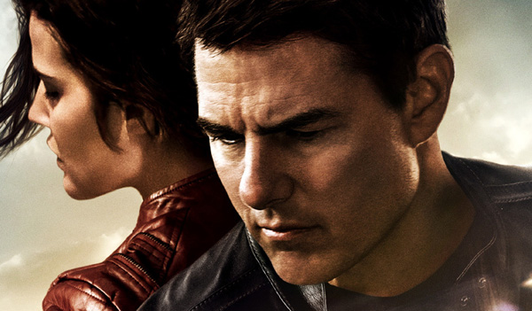Jack Reacher Never go back international poster thumb