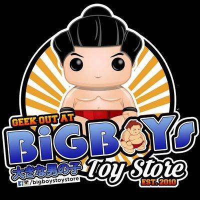 big boys toy store logo