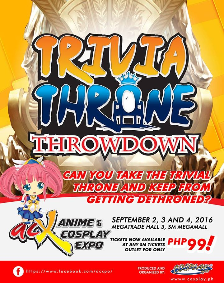 Trivia Throne Throwdown is a trivia contest with a twist