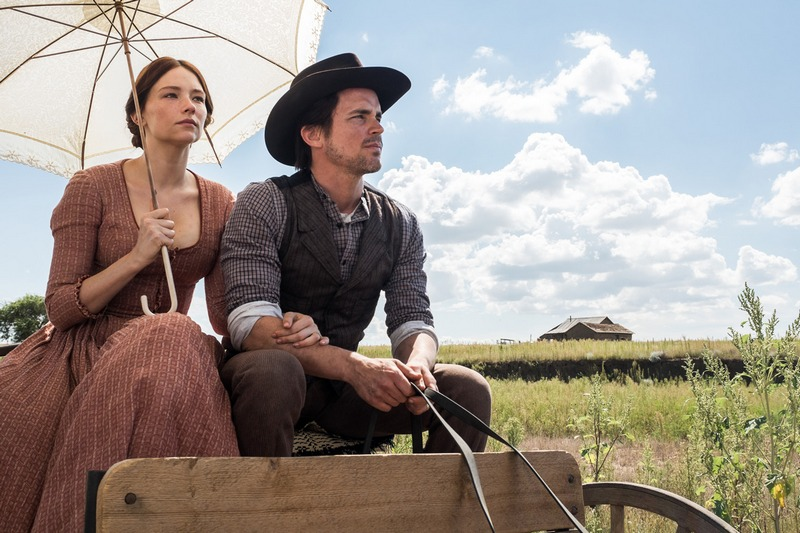 Haley Bennett and Matt Bomer in Metro-Goldwyn-Mayer Pictures' and Columbia Pictures' THE MAGNIFICENT SEVEN.