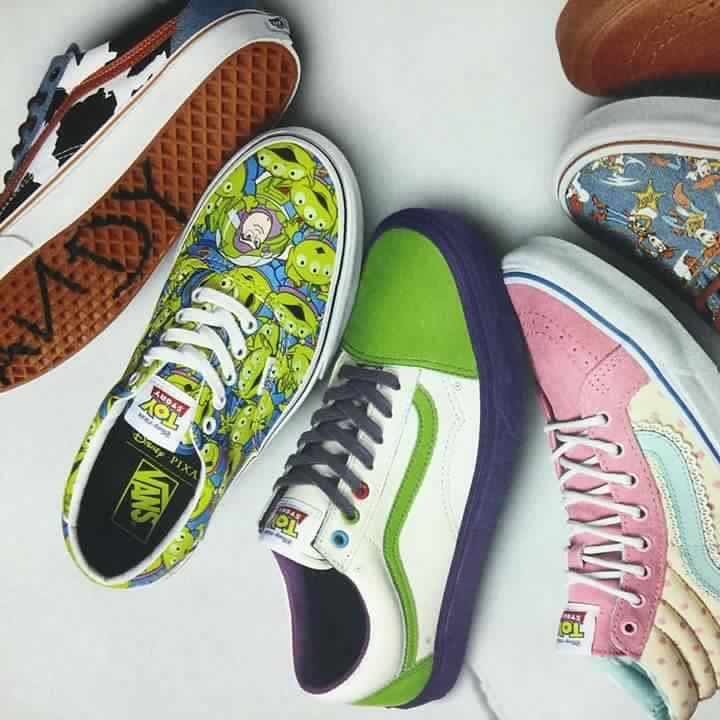 c4d53dd96c650c Vans Collaborates with Pixar for Epic Vans x Toy Story Shoes and ...