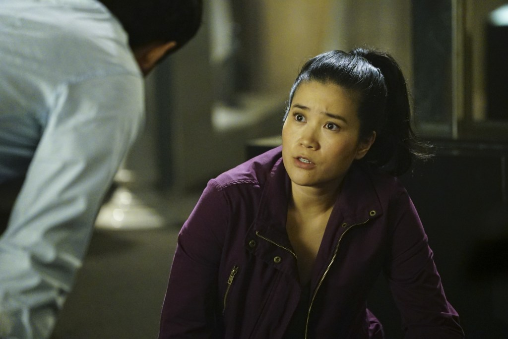 """Plight at the Museum"" -- Team Scorpion's simple job at the Los Angeles Natural History Museum turns deadly when they discover thieves robbing a rare gem exhibit in order to get materials needed to enrich a nuclear bomb, on SCORPION, Monday, Oct. 24 (10:00-11:00 PM, ET/PT), on the CBS Television Network. Pictured: Jadyn Wong. Photo: Sonja Flemming/CBS ©2016 CBS Broadcasting, Inc. All Rights Reserved"