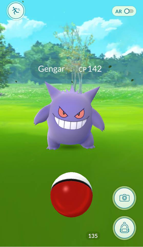 A Wild Gengar appeared! For a limited time only, Ghost and Psychic Pokemon spawn everywhere!