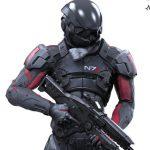 Color Tops Mass Effect Andromeda Scott Ryder Figure Coming Soon