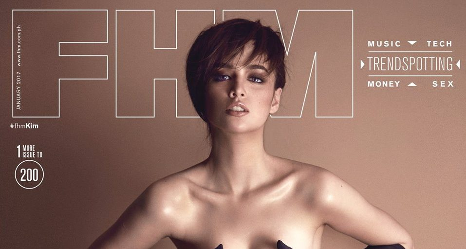 Kim Domingo as FHM Philippines January 2017 Covergirl
