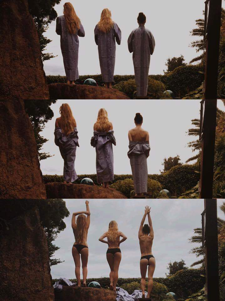 Game of Thrones Girls Gone Bad featuring Natalie Dormer, Sophie Turner and Maisie Williams