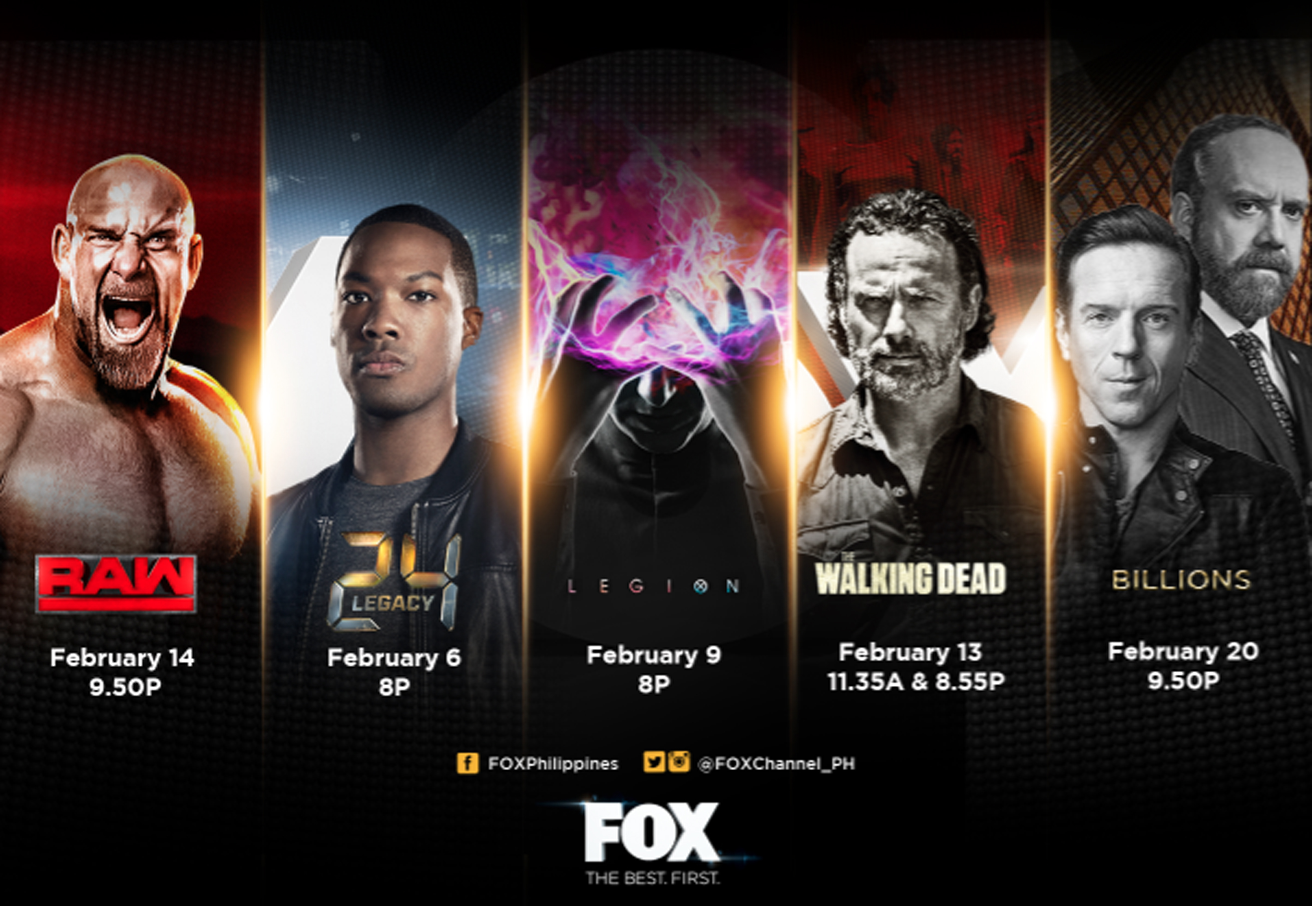 Fox Brings More Excitemenet For February With Legion The Walking How To Win At Rockpaperscissors Uptown Science Bring Excitement Is Also Teaming Up Premiere Philippine Escape Room Game Breakout Host First Ever Foxtreme Which Will
