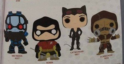 Toy Fair 2017: Funko Batman Arkham City Robin, Catwoman and More