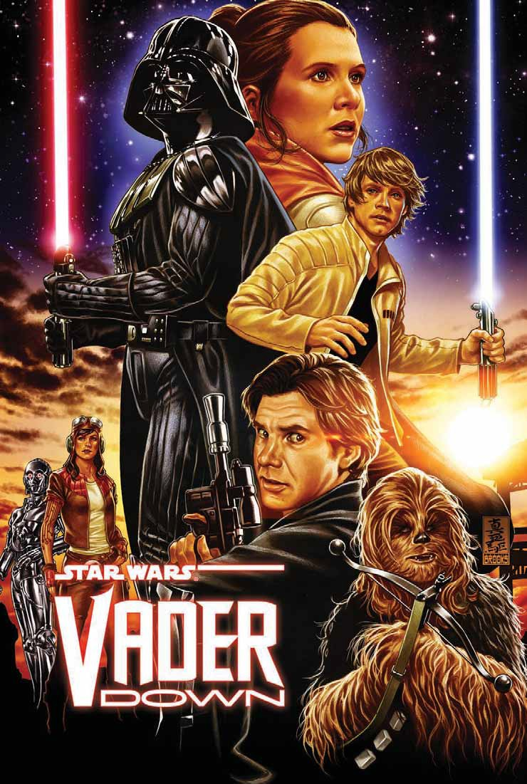 Star wars vader down tpb cover