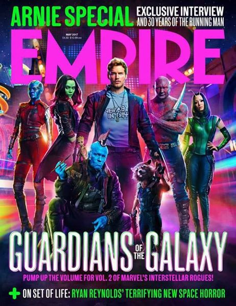Empire Magazine April 2017 Guardians of the Galaxy regular cover