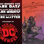 DC Comics Pairs Up New Talents with Veterans for DARK MATTER Imprint
