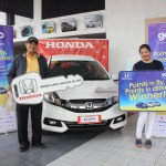 GetGo promo winners drive home brand-new Honda Mobilio vehicles!