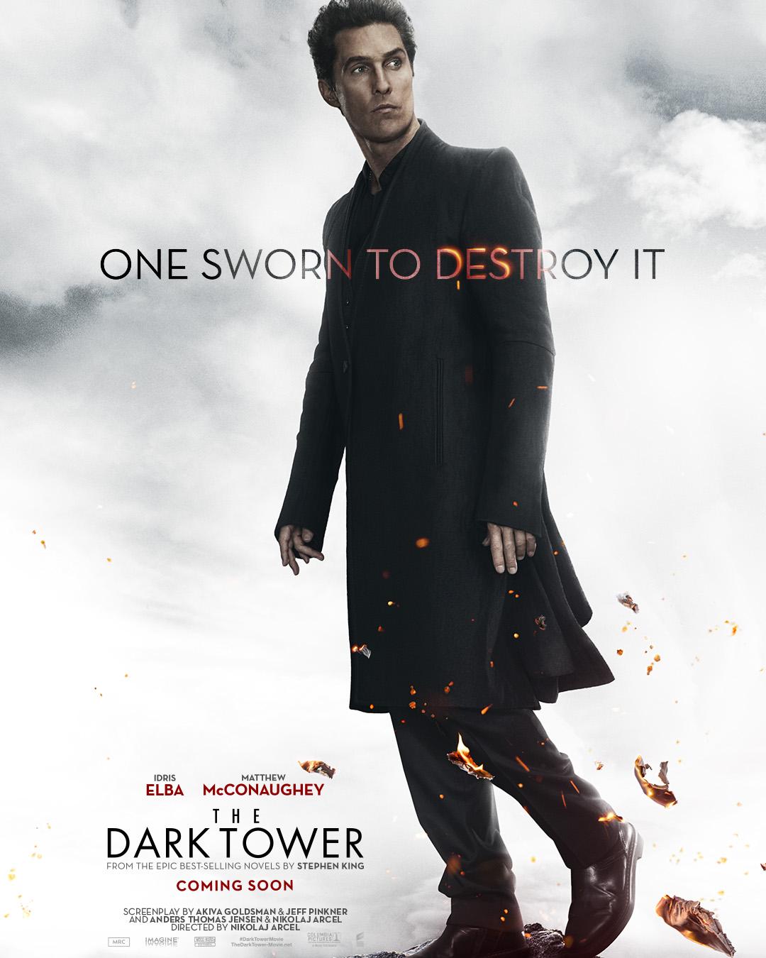 dark tower posters mcconaughey