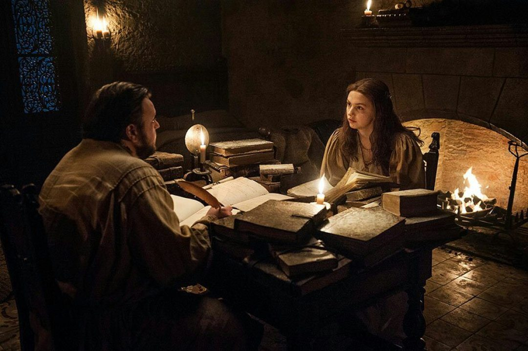 Sam and Gilly Game of thrones s7e5