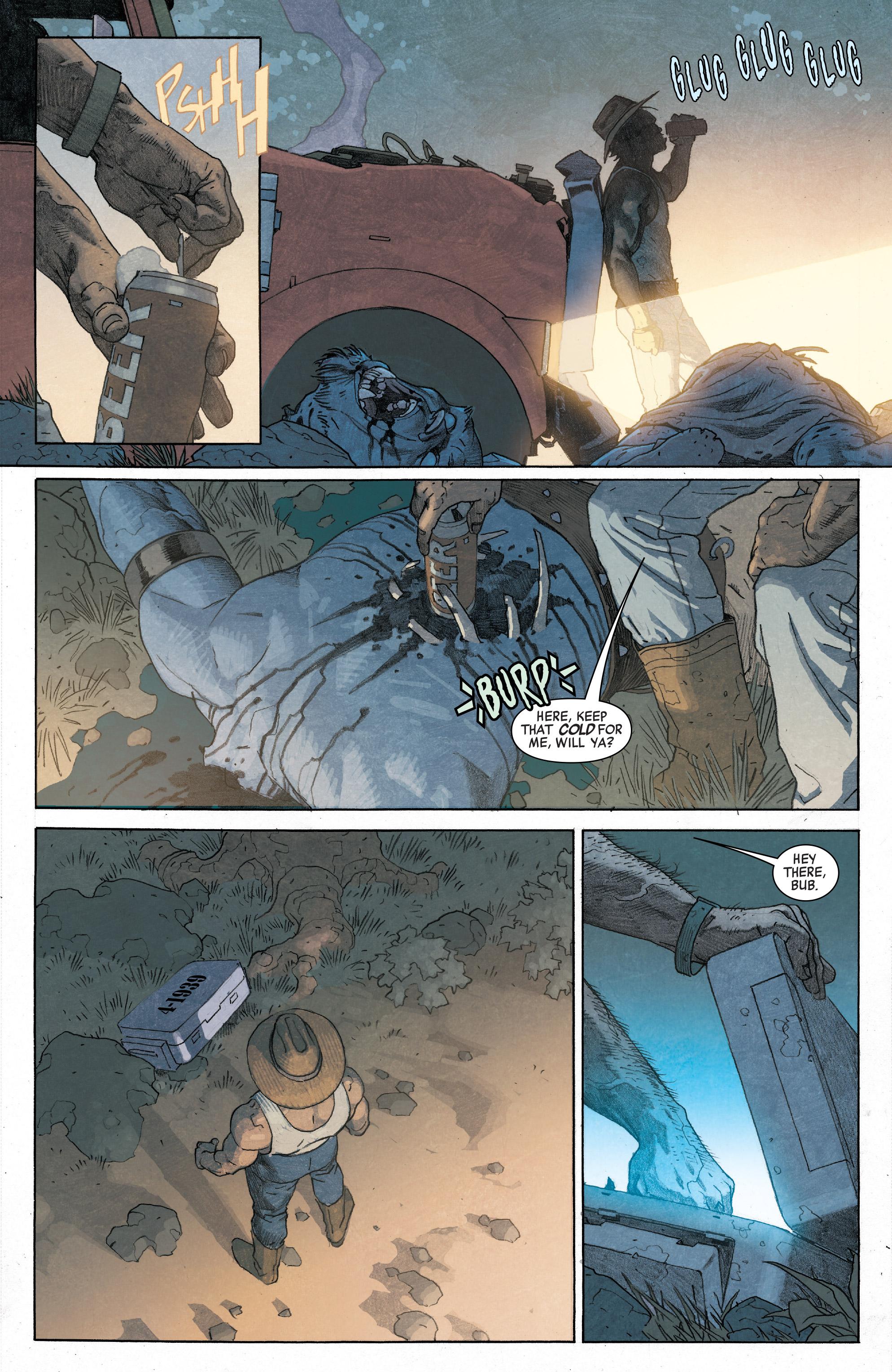 Marvel legacy # 1 spoilers