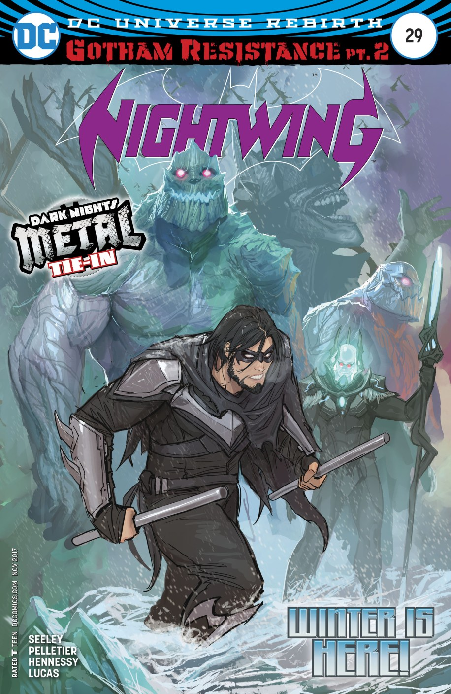 nightwing # 29 spoilers