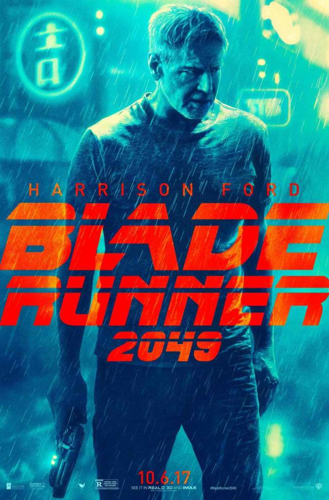 gosling ford get blade runner 2049 character posters the fanboy seo. Black Bedroom Furniture Sets. Home Design Ideas