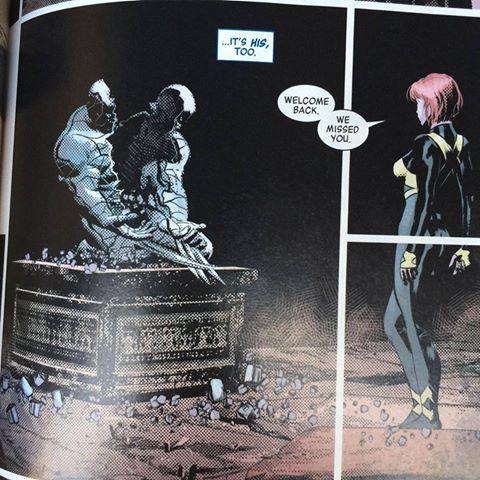 wolverine returns in Marvel Legacy # 1