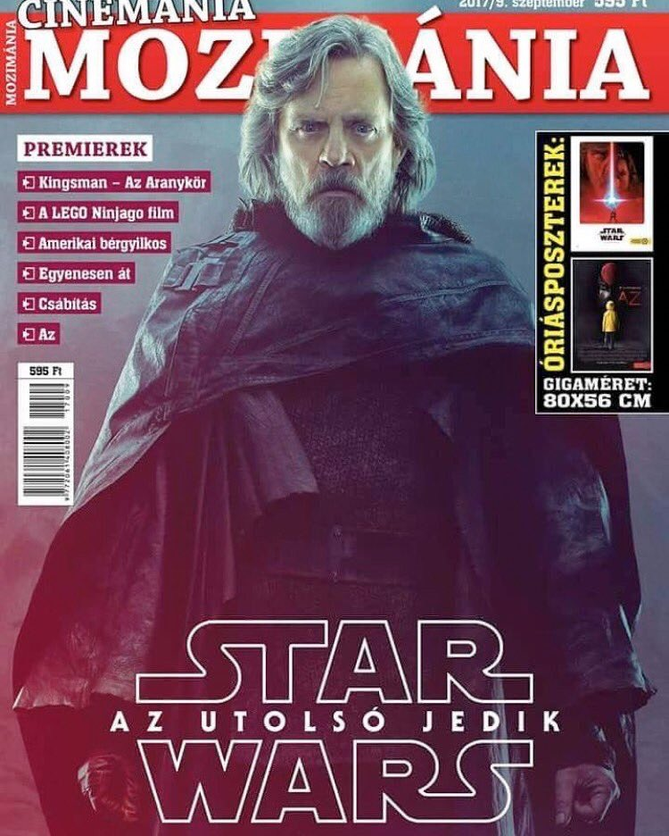 star wars the last jedi euro magazine luke skywalker