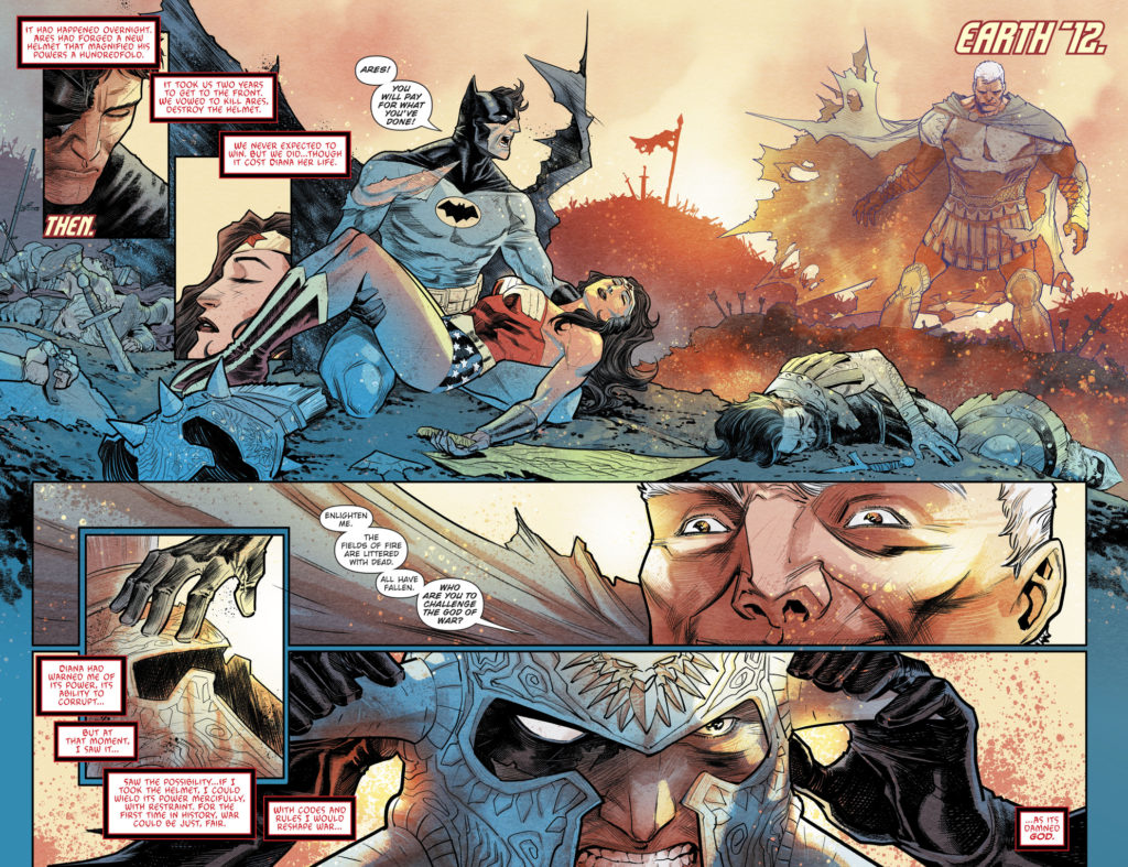 Batman the merciless # 1 spoilers batman vs ares