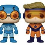 Blue Beetle and Booster Gold Funko Pop Announced