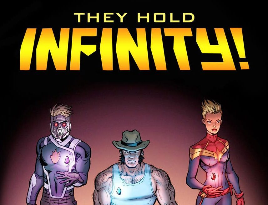 OG Wolverine, Star-Lord and Captain Marvel all have Infinity Stones for Marvel's New Teaser