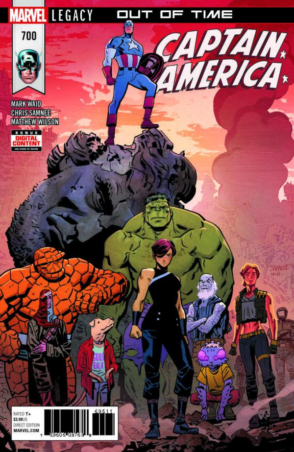 Captain America # 700