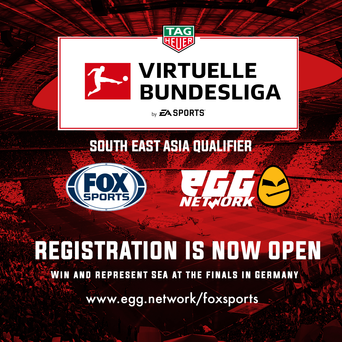 eGG Network & FOX Sports Asia present the Virtuelle Bundesliga South East Asia Qualifier