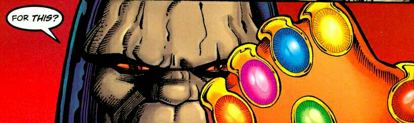 What if Darkseid Held the Infinity Gauntlet
