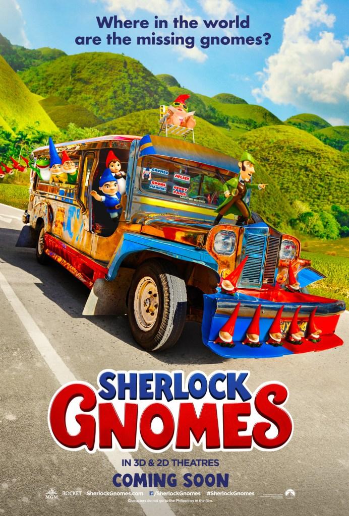 Sherlock gnomes one sheet jeepney ph