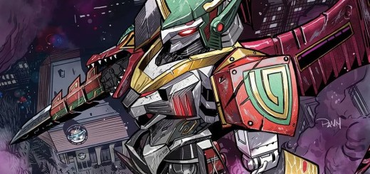 idw new megazord power rangers shattered grid
