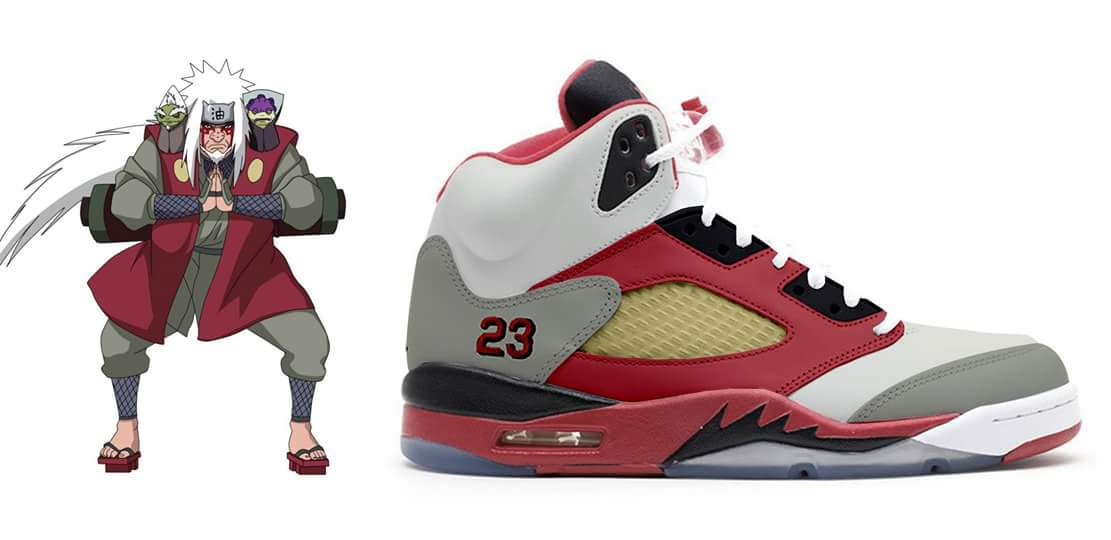 Artist Imagines Naruto Air Jordans and they are Awesome