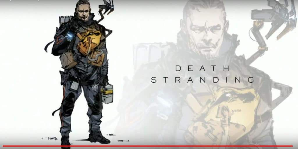 Some Sweet Art from Death Stranding TGS 2018