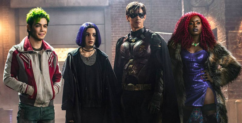 Netflix to Carry Titans TV Series Outside US (So yes, PH