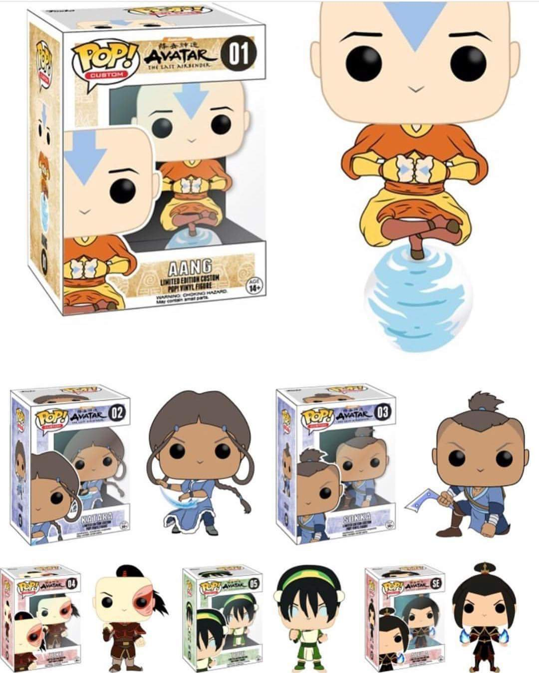 Avatar 2 Release Date: Unconfirmed Avatar: The Last Airbender Funko Pops Surface