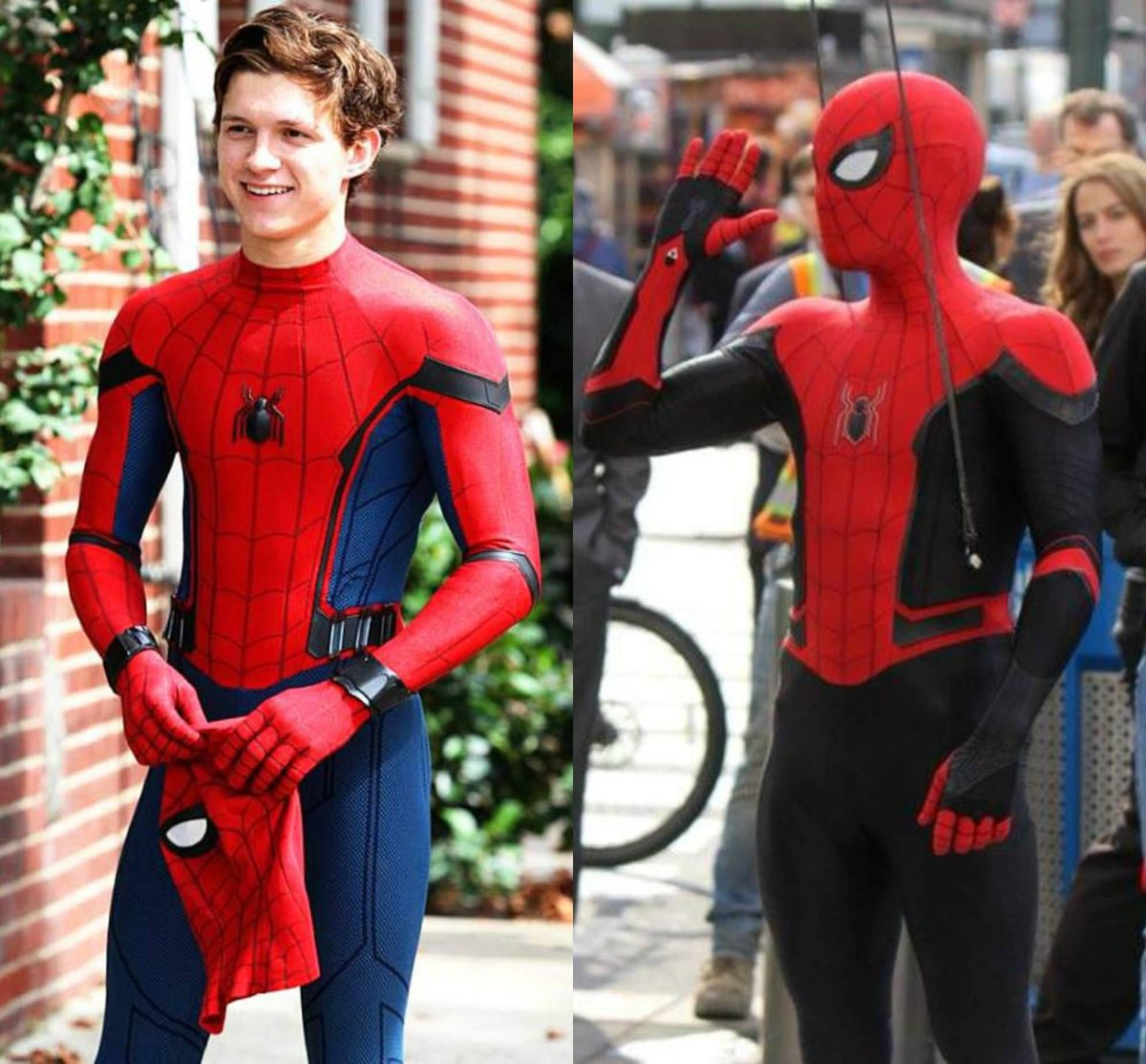 Spider-Man has a new Default Costume for Spider-Man Far From Home