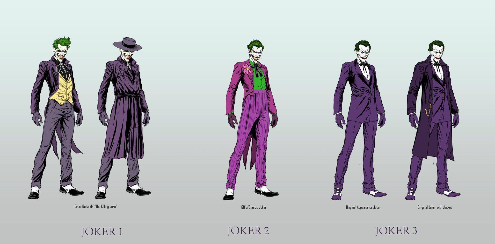three jokers by Jason Fabok