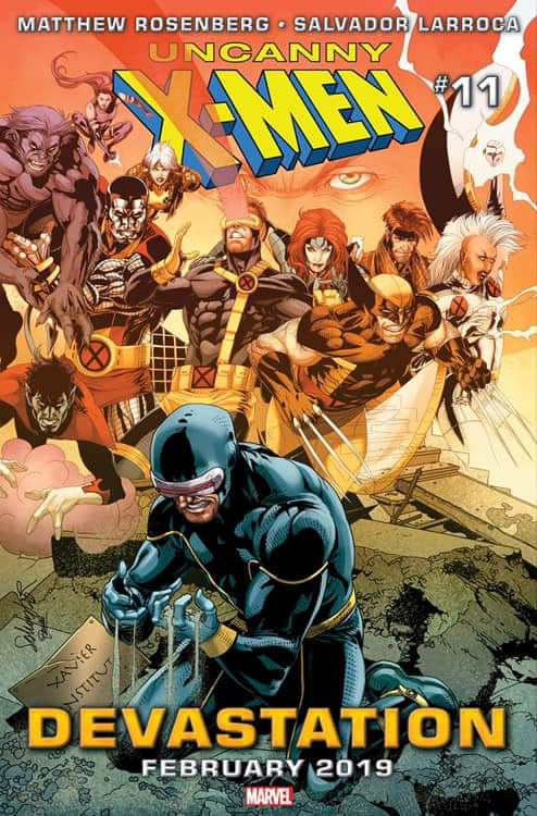 Marvel Confirms Return of Cyclops in Uncanny X-Men # 11