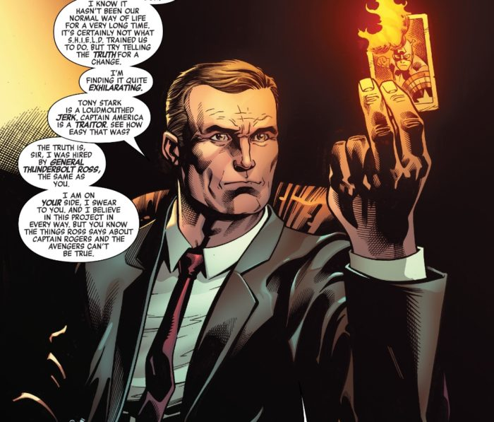 Phil Coulson is a bad guy now - Avengers # 11