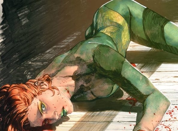 Here's that Controversial Heroes in Crisis Cover with the Dead Poison Ivy